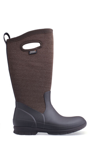 Bogs Crandall Tall Rain Boots Women Chocolate Multi